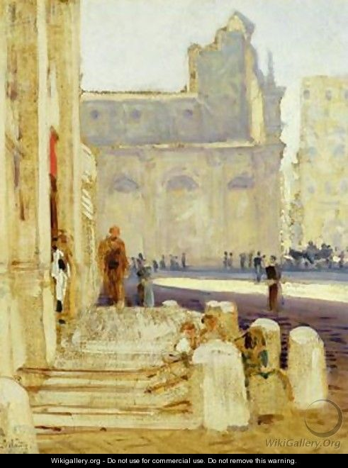 Two Churches in Rome - Louis Kolitz
