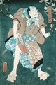 Detail of Character Five from Five Characters from a Play by Toyokuni - Utagawa Kunisada