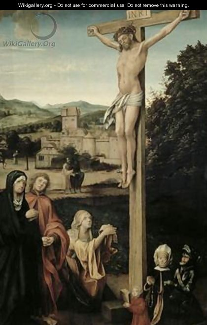 The Crucifixion - Hans Suess Kulmbach