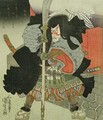 The Actor Ichikawa Danjuro VII as a Samurai Warrior - Utagawa Kunisada