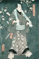 Detail of Character Four from Five Characters from a Play by Toyokuni - Utagawa Kunisada