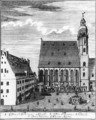 St Thomas Church and School in Leipzig - Johann Gottfried Krugner