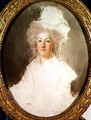 Unfinished portrait of Marie Antoinette 1774-92 - Alexandre Kucharski