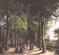 The Promenade at Spa in Belgium - Ernest Krins