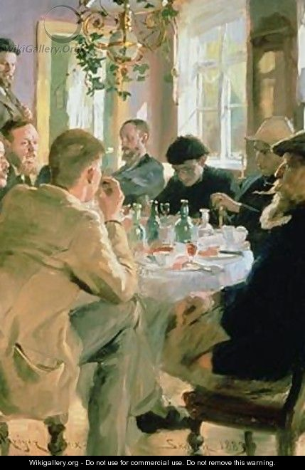 Lunchtime - Peder Severin Kroyer