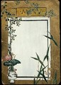 Menu with Bamboo - Christopher Grant La Farge