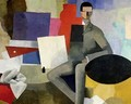 The Seated Man or The Architect - Roger de La Fresnaye