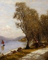 A Veronese Shepherdess Lake Garda - Henry Herbert La Thangue