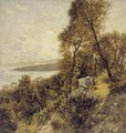 Ligurian Hillside - Henry Herbert La Thangue