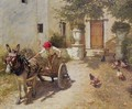 Farm Yard Scene - Henry Herbert La Thangue