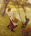 In the Orchard Haylands Graffham - Henry Herbert La Thangue