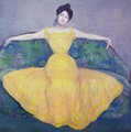 Lady in a Yellow Dress - Max Kurzweil