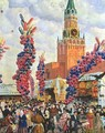 Easter Market at the Moscow Kremlin - Boris Kustodiev