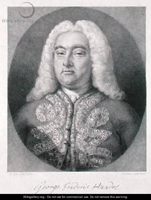 George Frederick Handel 1685-1759 - (after) Kyte, Francis