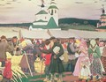 The Fair - Boris Kustodiev