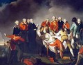 The Burial of General Simon Fraser 1729-77 after the Battle of Saratoga in 1777 - (after) Graham, John