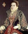 Mary Denton nee Martyn aged 15 in 1573 - George Gower