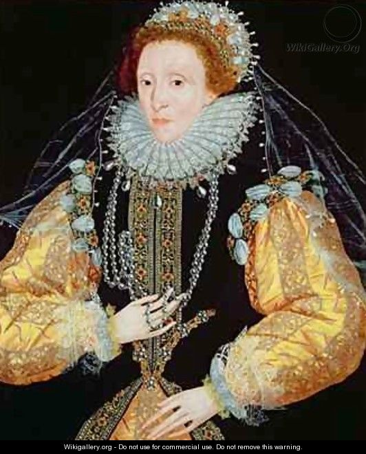 queen elizabeth 1st portrait. Portrait of Queen Elizabeth I