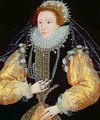 Portrait of Queen Elizabeth I The Drewe Portrait - George Gower