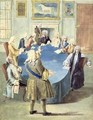 Sir Robert Walpole addressing his cabinet - Joseph Goupy