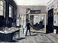 Whistler Painting in his Studio - Walter Greaves