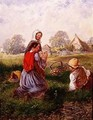 Picking Flowers - Alfred H. Green