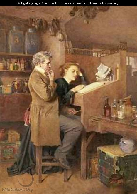 Grocer and wife - Charles Green