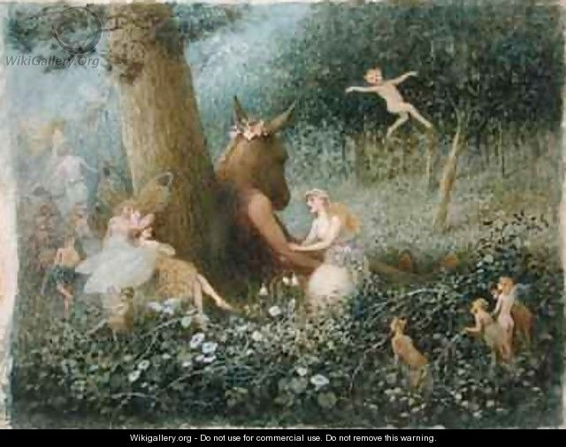 A Midsummer Nights Dream Henry Towneley Green Wikigallery Org