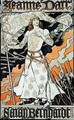 Reproduction of a poster advertising Joan of Arc - Eugene Grasset