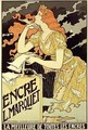 Reproduction of a poster advertising Marquet Ink - Eugene Grasset