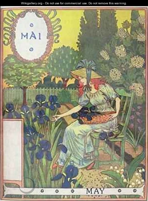 May - Eugene Grasset