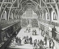 Westminster Hall The First Day of Term A Satirical Poem - Hubert-Francois Gravelot