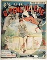 Poster advertising the Bal de la Grenouillere - Henri (Boulanger) Gray
