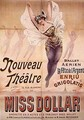 Poster advertising the Ballet Aerien La Fete de lArgent and the operetta Miss Dollar produced at the Nouveau Theatre rue Blanche Paris - Henri (Boulanger) Gray