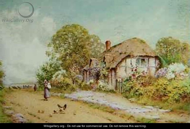 A Devonshire Cottage - J.A. Lynas Gray