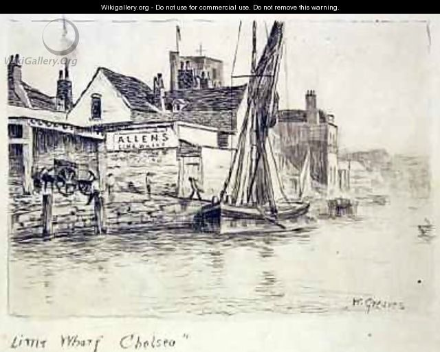 Lime Wharf Chelsea - Walter Greaves