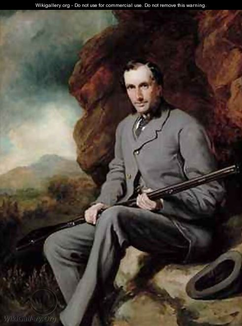 Portrait of Hugo Francis Meynell Ingram - Sir Francis Grant