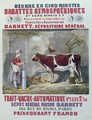 Advertisement for the Atmospheric Churn and Automatic Milking Machine - Jules Gras