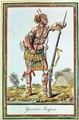 Iroquois Warrior - (after) Grasset de Saint-Sauveur, Jacques