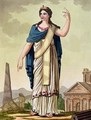 Patrician Woman - (after) Grasset de Saint-Sauveur, Jacques