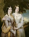 Annabella Lady Lamington and Frederica Countess of Scarbrough - Sir Francis Grant