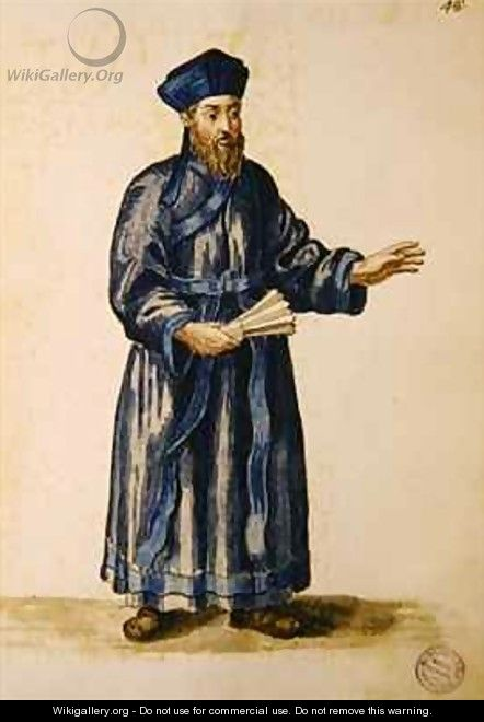 Venetian missionary in China - Jan van Grevenbroeck