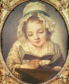 The Reader - (after) Greuze, Jean Baptiste