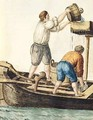 Boatmen Pouring Fresh Water into the Pipelines - Jan van Grevenbroeck