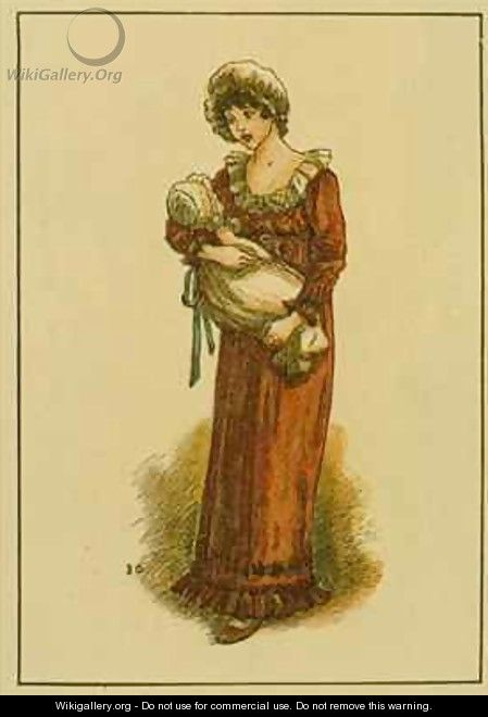 August - Kate Greenaway