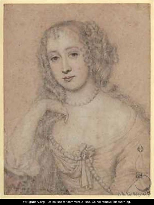 Portrait drawing of a lady - John Greenhill
