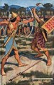 Senuhet Slays the Warrior of Tonu - Maurice William Greiffenhagen