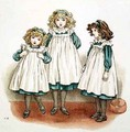 But Flinders foots were cold from April Babys Book of Tunes - Kate Greenaway
