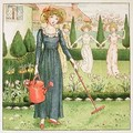 Mary Mary Quite Contrary from April Babys Book of Tunes - Kate Greenaway