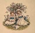 Illustration for St Valentines Day 6 - Kate Greenaway